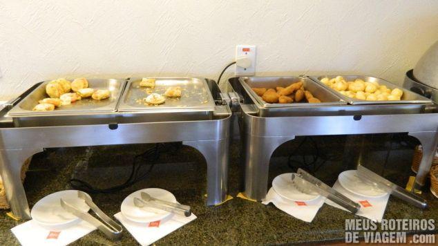 Café da manhã do Hotel Ibis Porto Alegre Aeroporto