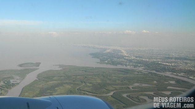 Vista aérea de Tigre - Buenos Aires