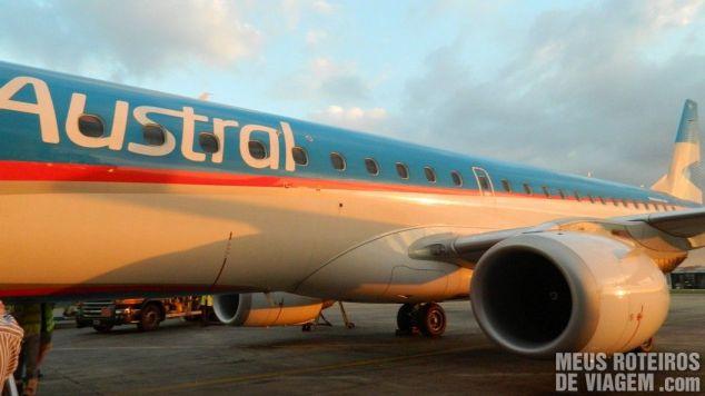 Embraer E190 da Austral Lineas Aereas