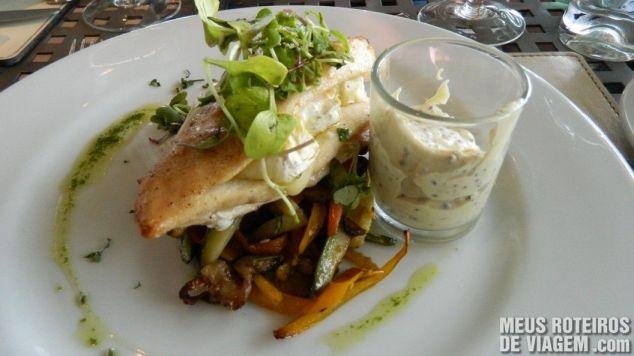 Restaurante da Bodega Salentein - Mendoza, Argentina