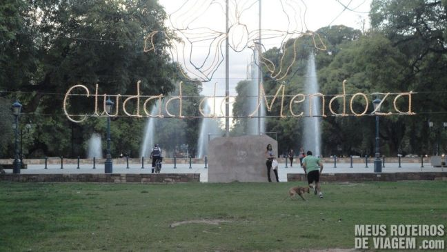 Plaza Independencia - Mendoza