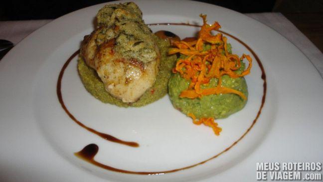 Prato no Restaurante Azafrán - Mendoza, Argentina