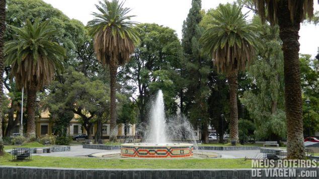 Plaza Chile - Mendoza, Argentina