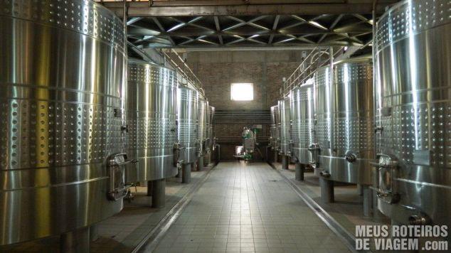 Tanques de fermentação Salentein - Mendoza, Argentina