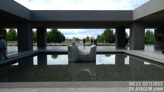 Espelho d'água na recepção Salentein - Mendoza