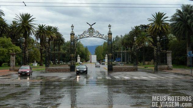 Portão do Parque General San Martín - Mendoza, Argentina