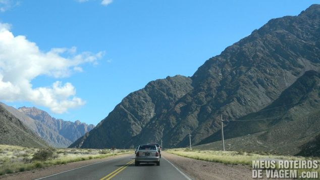 Ruta Nacional 7 Estrada na Cordilheira dos Andes - Mendoza, Argentina
