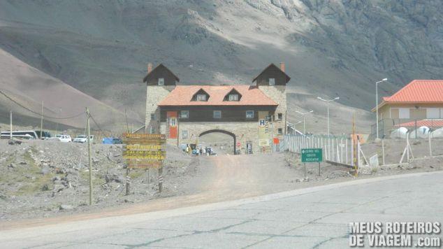 Arco de Las Cuevas - acesso ao Cristo Redentor de Los Andes Argentina