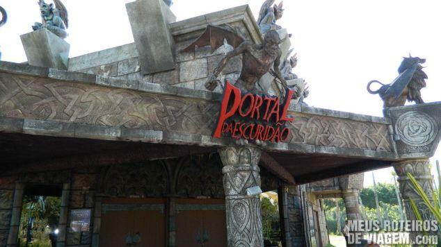 Portal da Escuridão - Parque Beto Carrero World, Penha/SC