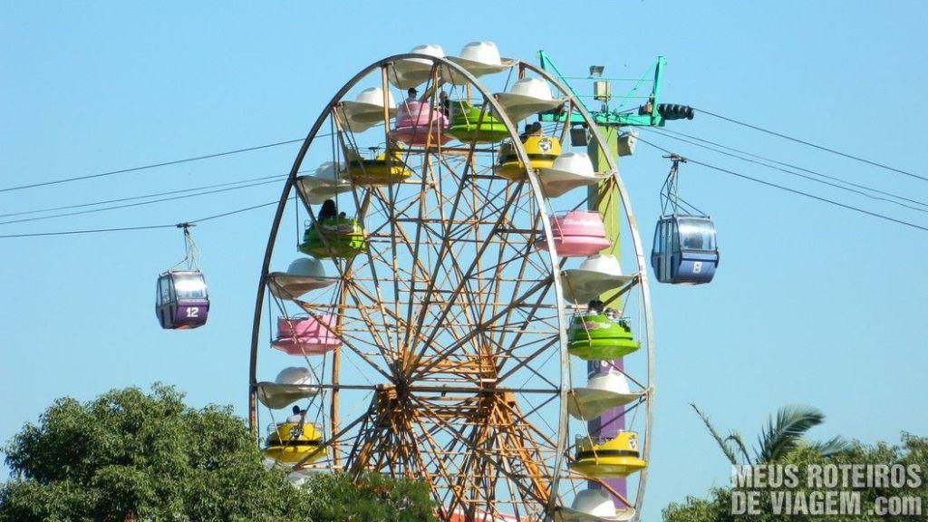 Roda Gigante e Teleférico - Parque Beto Carrero World