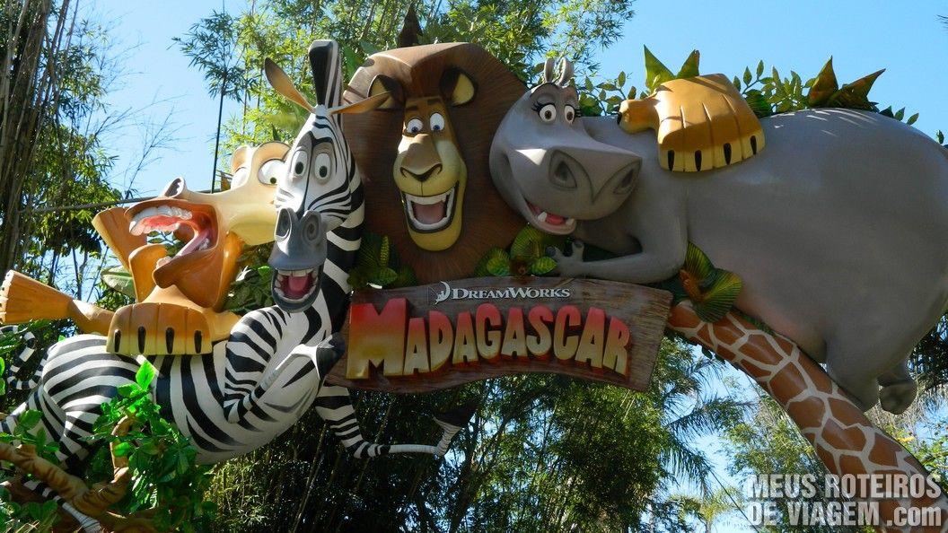 Área temática Madagascar - Parque Beto Carrero World