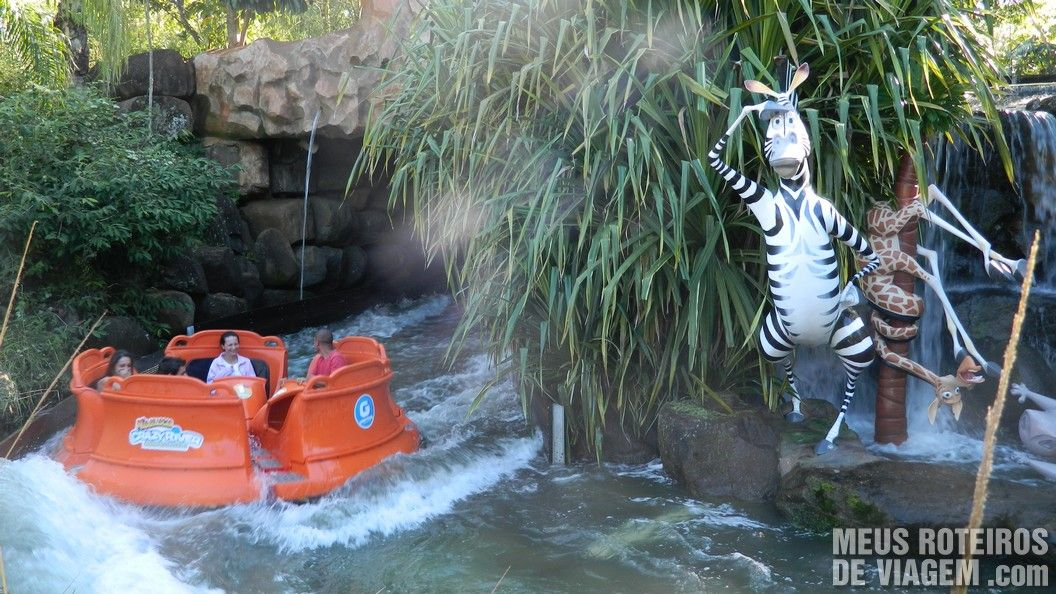 Crazy River Madagascar - Parque Beto Carrero World Penha/SC