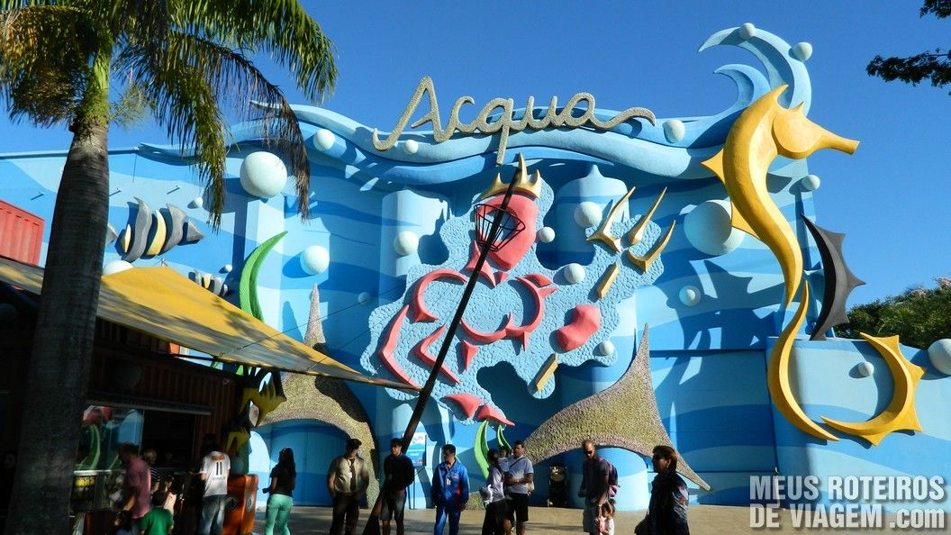 Teatro Acqua - Parque Beto Carrero World, Penha/SC