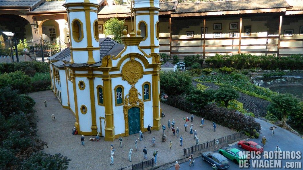 Igreja em miniatura - Mini Mundo Gramado