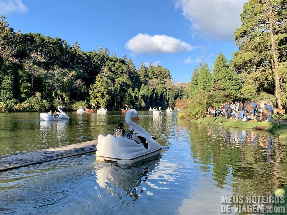 Pedalinho no Lago Negro - Gramado