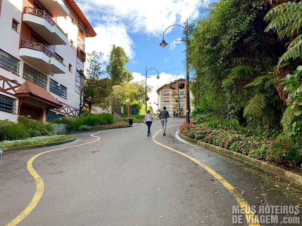 Rua Torta de Gramado