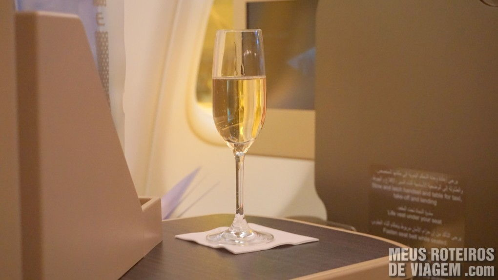 Classe executiva da Etihad Airways - Business Class