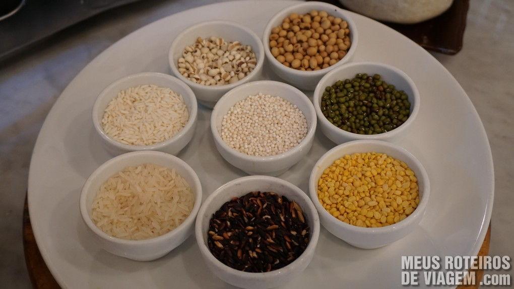 Ingredientes típicos da culinária tailandesa