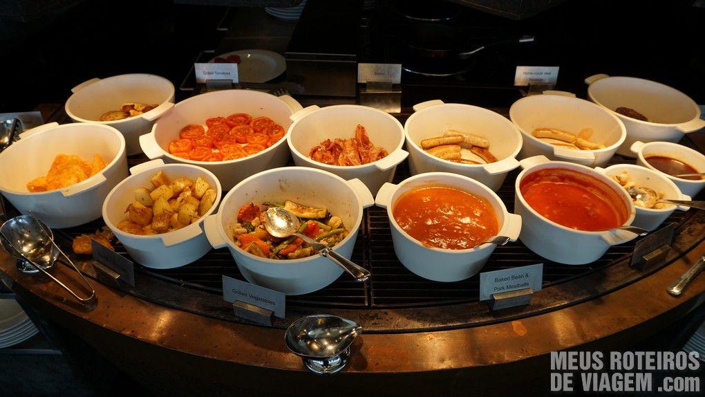 Café da manhã do hotel Mandarin Oriental Bangkok