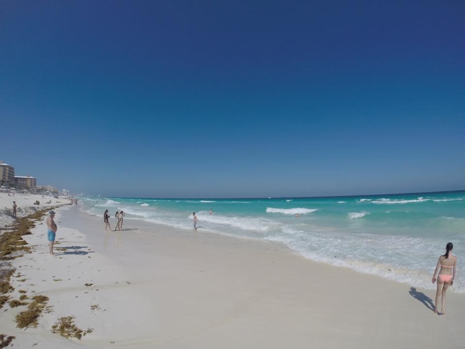Praia de Cancun - México