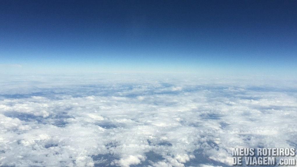 Voando sobre o Brasil