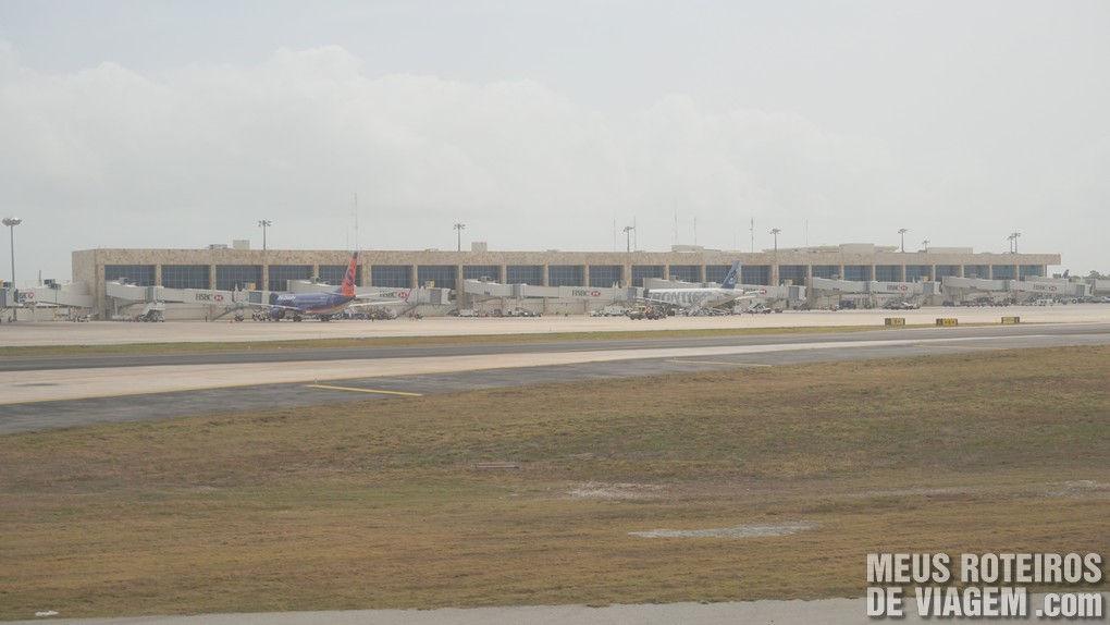 Terminal 3 do Aeroporto de Cancun