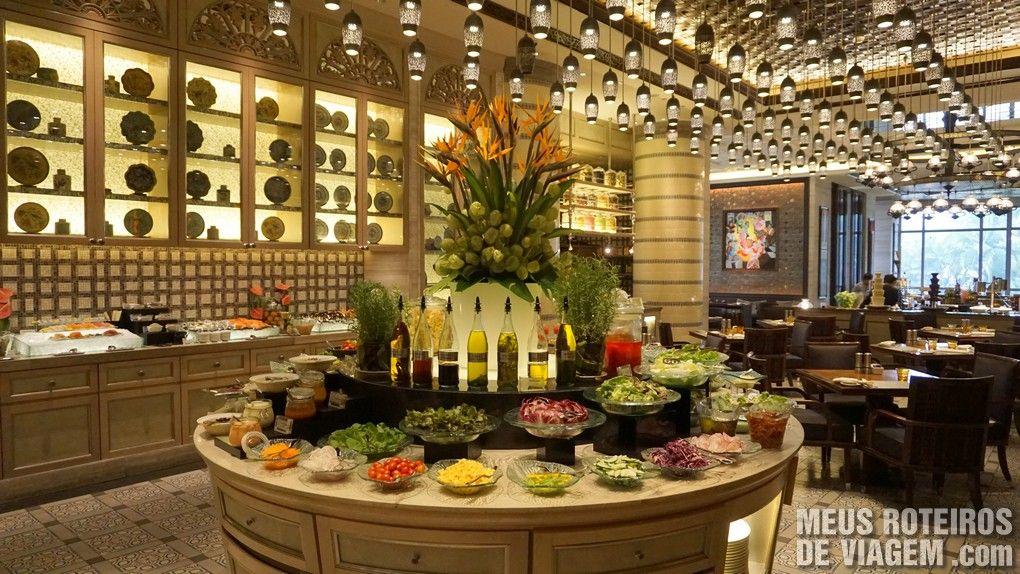 Restaurante no Hotel Mandarin Oriental Kuala Lumpur