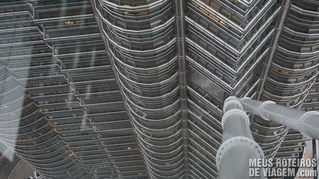 Skybridge das Petronas Towers - Kuala Lumpur, Malásia