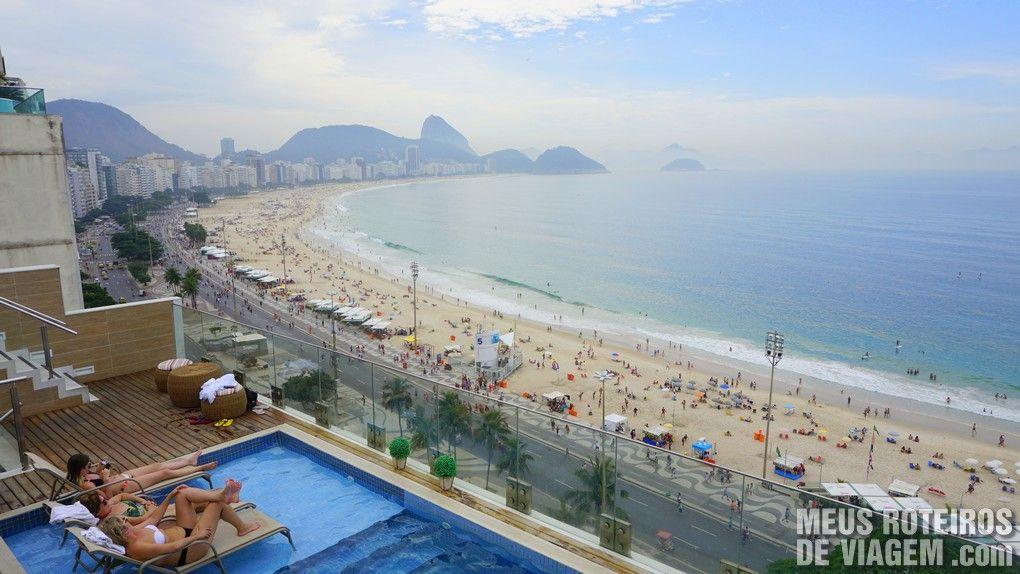 Piscina do hotel Golden Tulip Regente - Rio de Janeiro