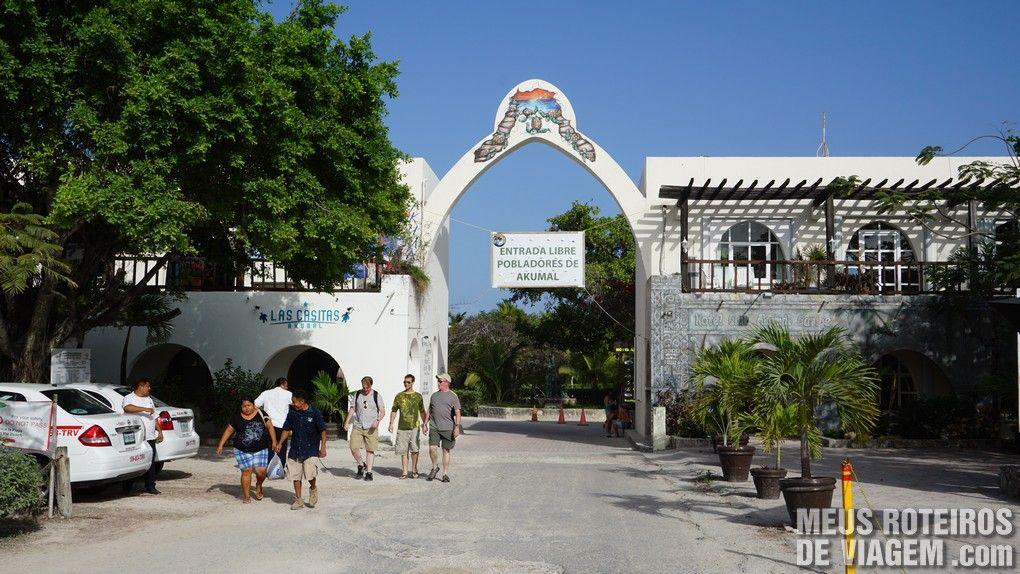 Praia de Akumal - Riviera Maya, México