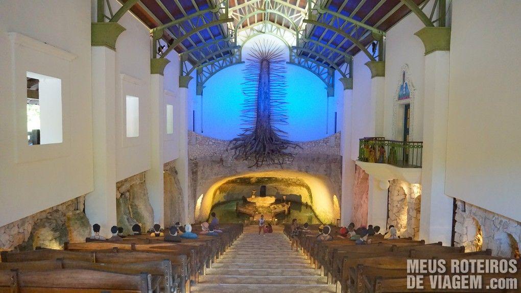 Igreja no Parque Xcaret - México