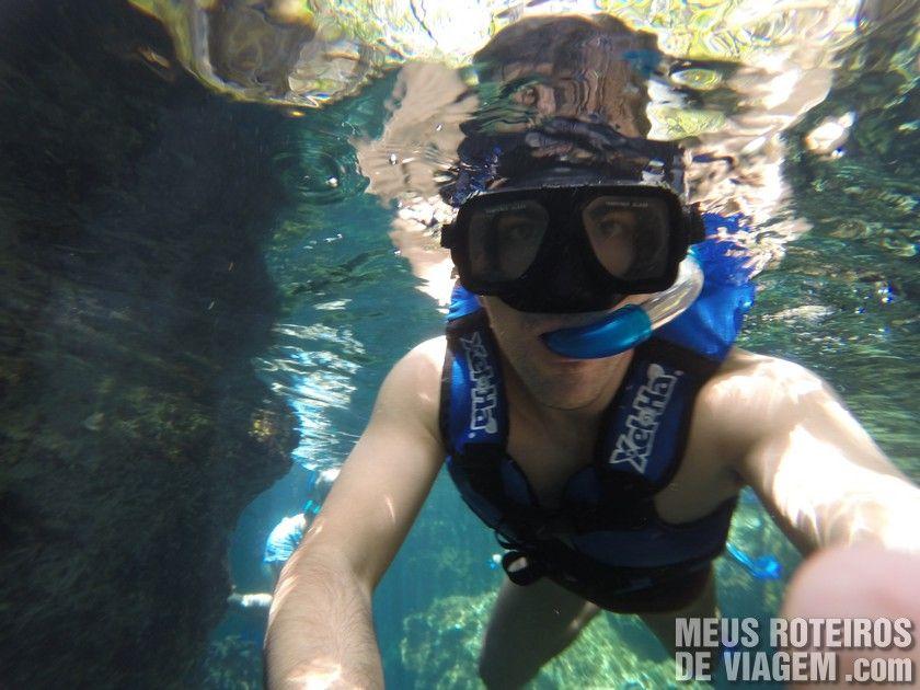 Mergulho no Xel-Há - Cancun e Riviera Maya, México