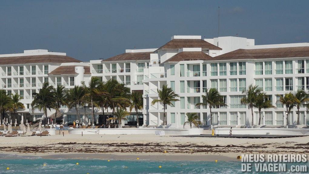 Resort na beira da praia em Playa del Carmen