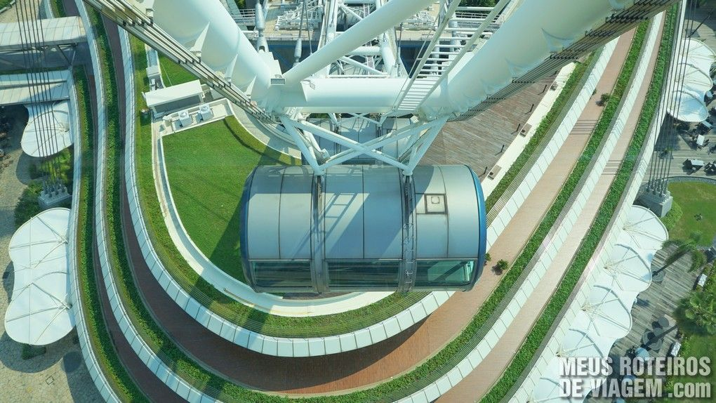 Roda gigante Singapore Flyer - Cingapura
