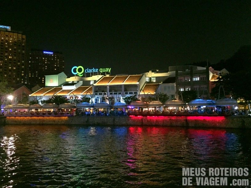 Clarke Quay - Cingapura