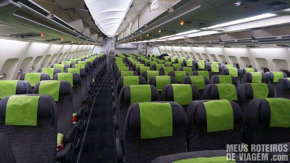 Classe econômica do A330 da TAP