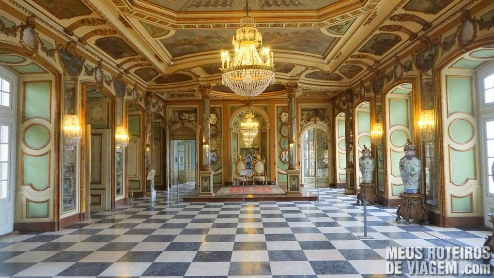Palácio Nacional de Queluz - Portugal