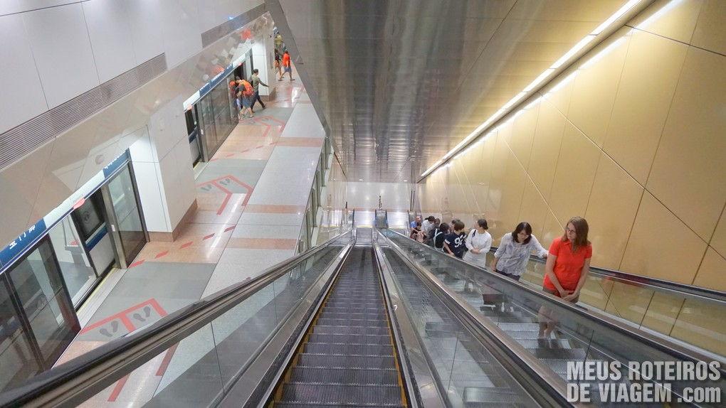 Estação de metrô de Cingapura