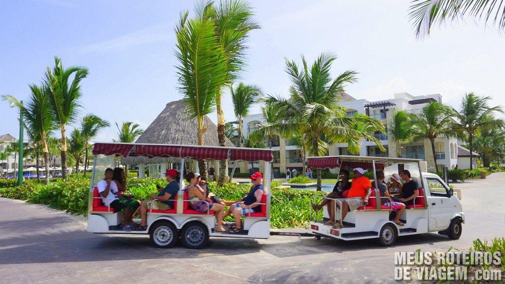 Carrinho de golfe - Hard Rock Hotel & Casino Punta Cana