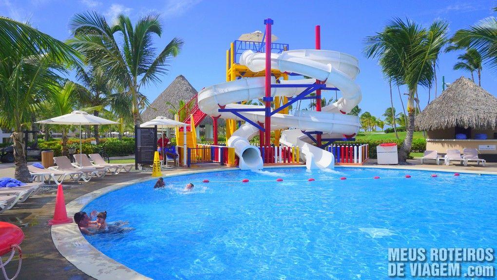 Piscina infantil do Hard Rock Hotel & Casino Punta Cana