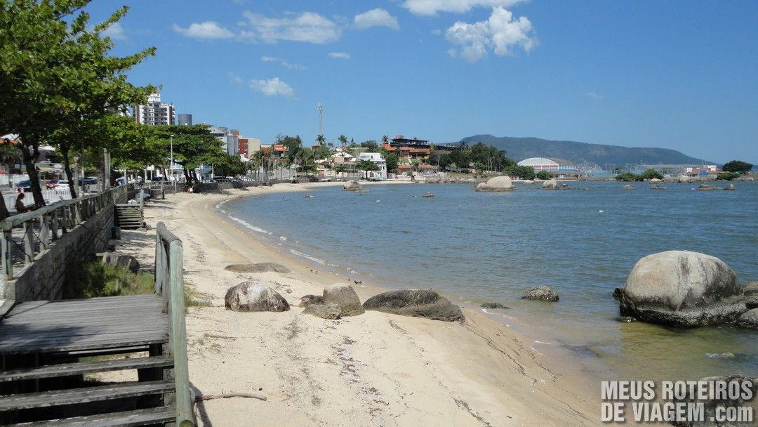 Praia do Itaguaçú - Florianópolis