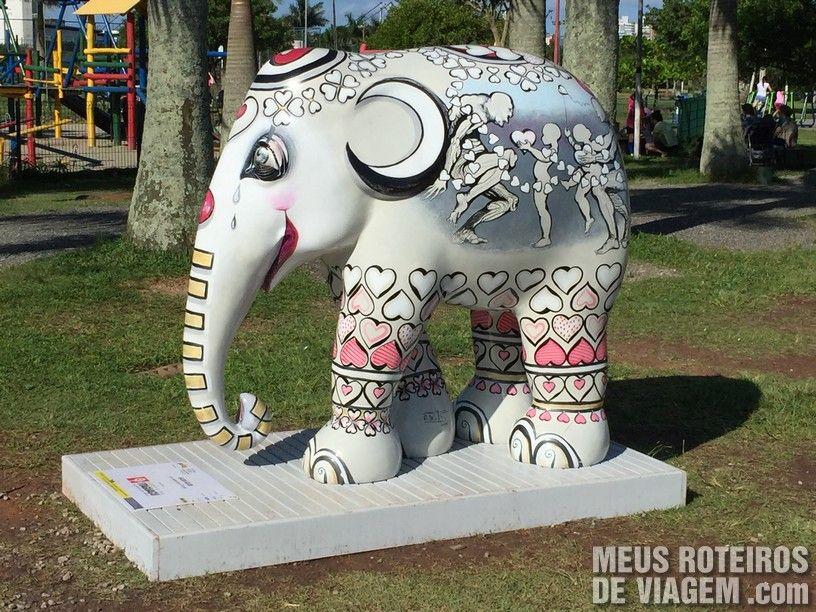 """Elefante """"Gudi Gudi"""", por Albertina Prates"""