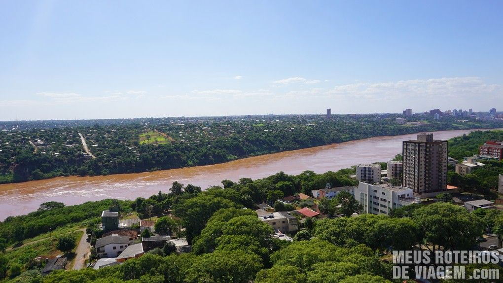 Vista do Hotel Wyndham Golden Foz Suites - Foz do Iguaçú
