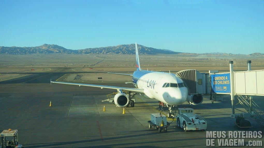 Aeroporto de Calama - Chile