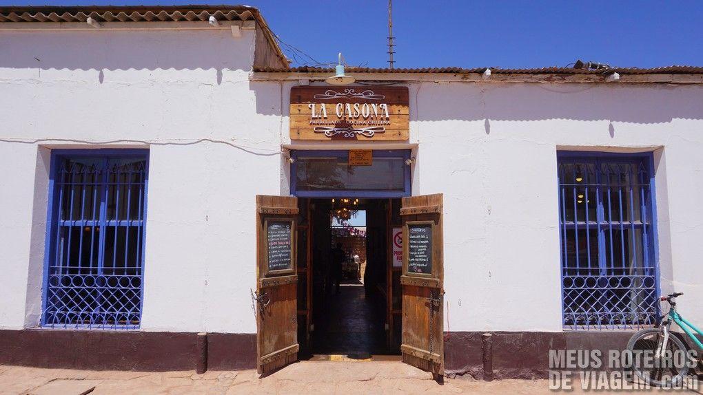 Restaurante La Casona - San Pedro de Atacama, Chile