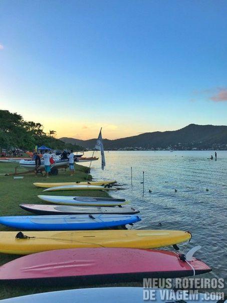 Fim de tarde na Lagoa da Conceição - Floripa
