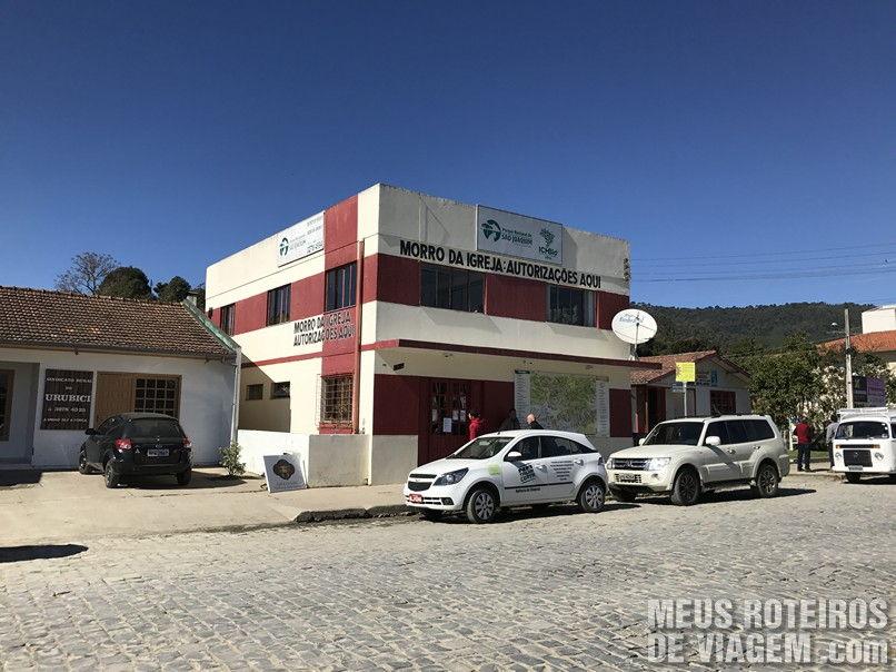 Sede do ICMBIO em Urubici