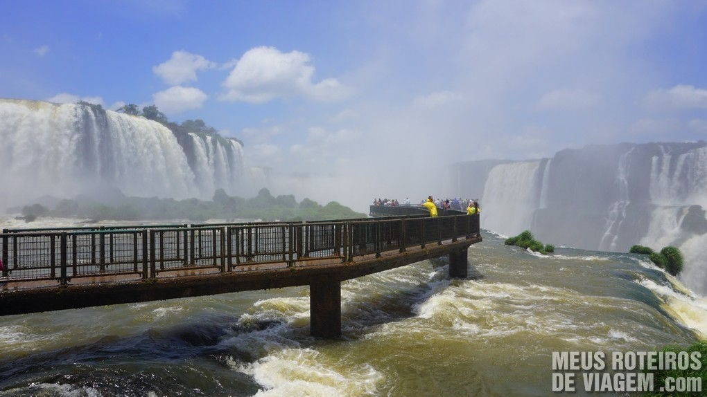 Parque das Cataratas em Foz do Iguaçú