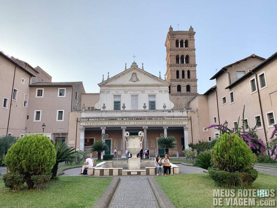 Basilica di Santa Cecilia in Trastevere, Roma