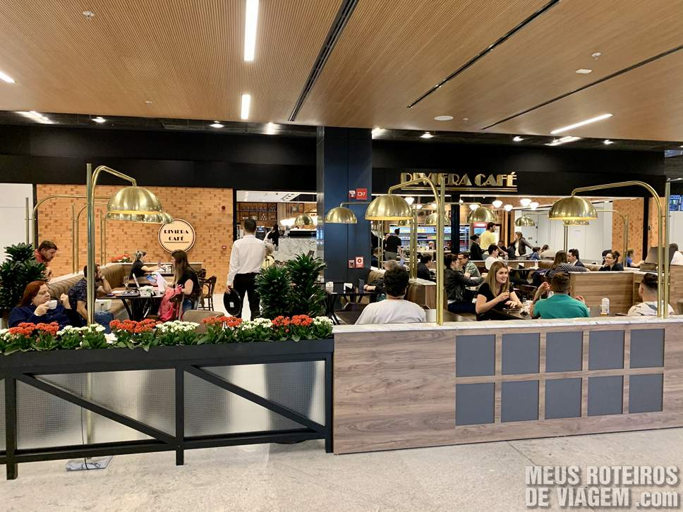 Café no Aeroporto de Floripa
